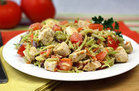 Healthy No-Noodle Pasta Swap Recipes: Maximum Veggie Hungry Chick-fredo
