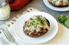 Hungry Girl's Healthy Lasagna Stuffed Portabellas Recipe