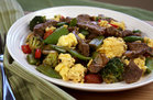 Hungry Girl's Healthy Steak 'n Eggs Stir-Fry Recipe