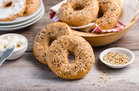 Hungry Girl's Healthy Blueberry Easy Everything Bagels Recipe