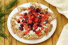 Hungry Girl's Healthy Go Greek Pita Chip Nachos Recipe