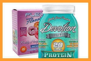 Devotion Nutrition Flex Flavors and Devotion Protein Powder