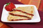 Hungry Girl's Healthy Rais' the Roof PB&J Quesadilla Recipe