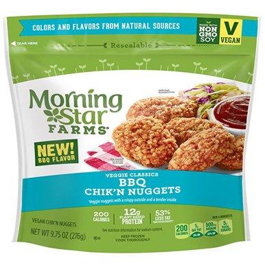MorningStar Farms Veggie Classics BBQ Chik'n Nuggets