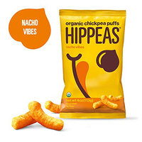 Hippeas Organic Chickpea Puffs in Nacho Vibes and Himalayan Happiness
