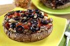 Portabella-Bottomed Pizza