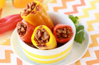 Hungry Girl's Healthy Mini Stuffed Peppers Recipe