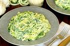Hungry Girl's Healthy Too-Easy Z'paghetti Girlfredo Recipe