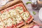 Hungry Girl's Healthy Sheet-Pan Turkey Meatza Pizza Recipe