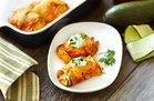 Hungry Girl's Healthy Messy Mexi' Zucchini Enchiladas Recipe