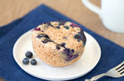 Hungry Girl's Healthy Bursting-with-Blueberries Muffin in a Mug Recipe