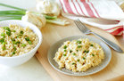 Hungry Girl's Healthy Dreamy Risotto-Style Cauliflower Rice Recipe