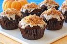 Hungry Girl's Healthy Gooey Butterfinger Cupcakes Recipe