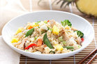 Hawaiian Fried Cauliflower Rice