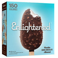 Enlightened Chocolate-Dipped Light Ice Cream Bars