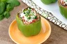 Hungry Girl's Healthy Mangia Lasagna Stuffed Peppers Recipe