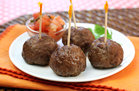 Hungry Girl's Healthy Taco Meatballs Recipe