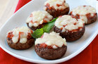 Hungry Girl's Healthy Pizza-Stuffed Mushrooms Recipe