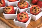 Hungry Girl's Healthy Chocolate & PB Stuffed Strawberries Recipe