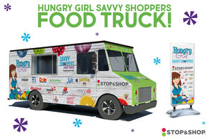 The Hungry Girl Savvy Shoppers Food Truck Is Rolling Up to a Stop & Shop Near You