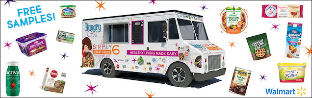 The Hungry Girl Simply 6 Treat Truck is coming to 200 Walmart locations!