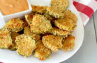 Faux-Fried Pickle Chips