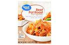 Great Value Beef Pot Roast w/ Vegetables (8.32)