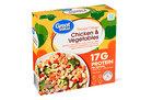 Great Value Bowl: Roasted Orange Chicken & Vegetables (7.5)