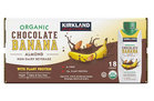 Kirkland Signature Organic Chocolate Banana Almond Non-Dairy Beverage with Plant Protein (8)