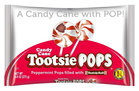 Candy Cane Tootsie Pops