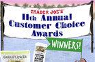 Trader Joe's 11th Annual Customer Choice Awards Winners