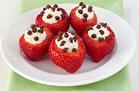 Hungry Girl Healthy Chocolate-Chip-Stuffed Strawberries Recipe