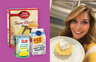 Hungry Girl Healthy 3-Ingredient Pineapple Cake in a Mug Recipe