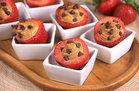 Hungry Girl Healthy Chocolate & PB Stuffed Strawberries Recipe