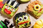 Spooky Avocado Toast