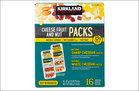 Kirkland Signature Cheese Fruit and Nut Packs (8)