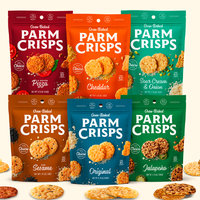 Oven-Baked ParmCrisps