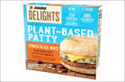 Jimmy Dean Delights Spinach & Egg White Plant-Based Patty & Frittata Sandwich (8)
