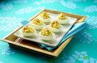 Hungry Girl Cauliflower Deviled Eggs