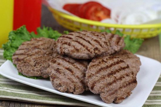 100-Calorie Burger Patties