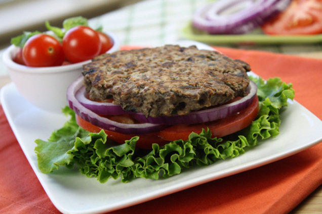 Healthy Veggie Burger Recipe