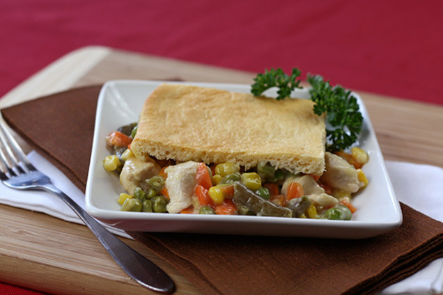 Low-Calorie Chicken Pot Pie Recipe