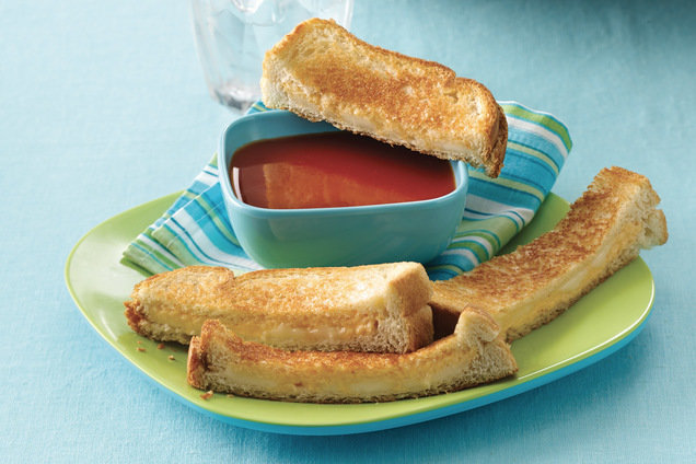 Healthy Grilled Cheese Dunkin' Duo Recipe