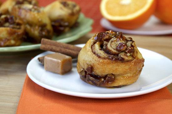 Nutty Caramel-Coated Sticky Buns Recipe