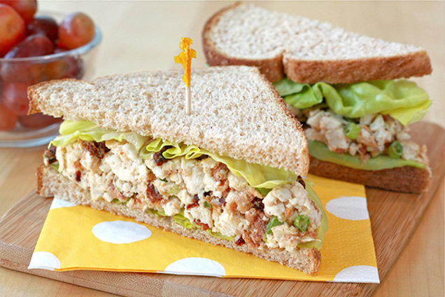 Healthy Chicken BLT Recipe