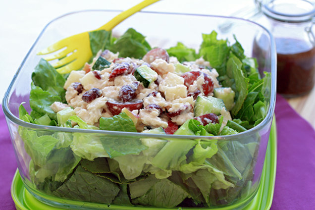 Healthy Fruit Tuna Salad Recipe