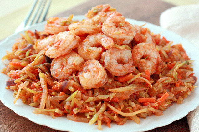 Healthy Shrimp Marinara Recipe