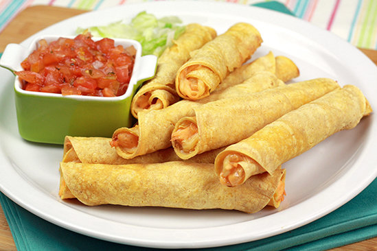 Two-Cheese Taquitos