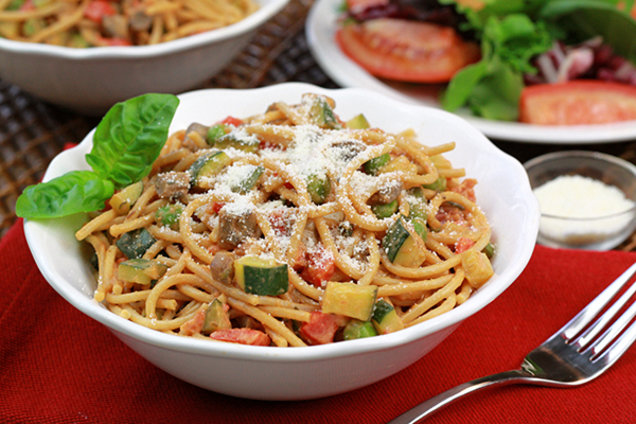 Veggie-Loaded Spaghetti Amore
