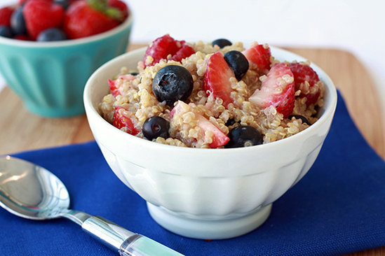 Hot 'n Fruity Quinoa Bowl